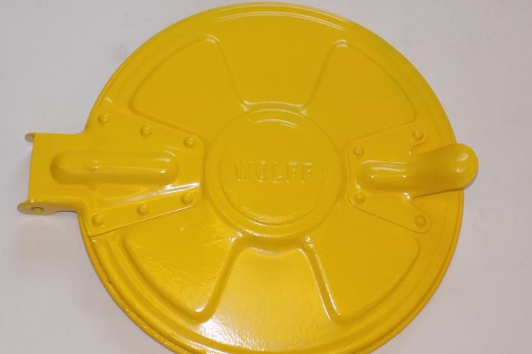 Mülltonnendeckel gelb